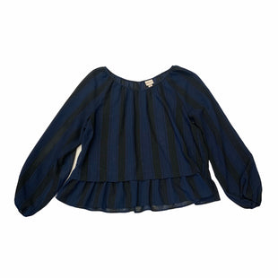 Primary Photo - BRAND: MERONA O STYLE: TOP LONG SLEEVE COLOR: BLUE SIZE: XL SKU: 159-15912-23329