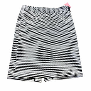 Primary Photo - BRAND: BANANA REPUBLIC STYLE: SKIRT COLOR: BLACK WHITE SIZE: M SKU: 159-159249-98