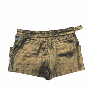 Primary Photo - BRAND: BCBGMAXAZRIA STYLE: SHORTS COLOR: GOLD SIZE: XS SKU: 159-159265-1110