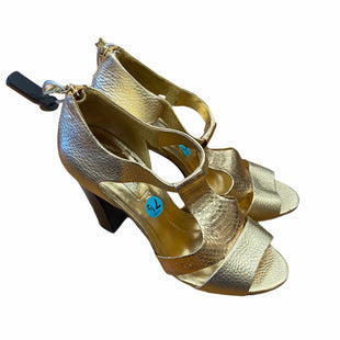 Primary Photo - BRAND: BCBGMAXAZRIA STYLE: SHOES HIGH HEEL COLOR: GOLD SIZE: 7.5 SKU: 159-159265-1120