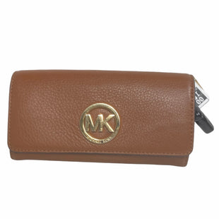 Primary Photo - BRAND: MICHAEL KORS STYLE: WALLET COLOR: BROWN SIZE: LARGE OTHER INFO: AS IS SKU: 159-159252-793