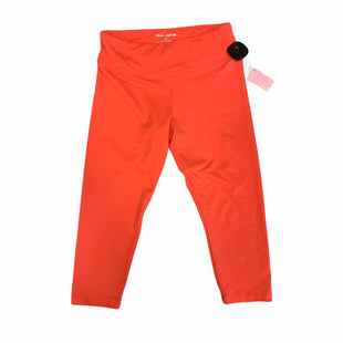 Primary Photo - BRAND: MARIKA TEK STYLE: ATHLETIC CAPRIS COLOR: ORANGE SIZE: S SKU: 159-159232-9606