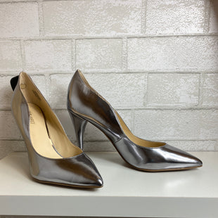 Primary Photo - BRAND: NINE WEST SHOES STYLE: SHOES HIGH HEEL COLOR: SILVER SIZE: 8.5 SKU: 159-159192-14279