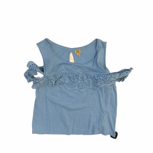 Primary Photo - BRAND: TRUE CRAFT STYLE: TOP SLEEVELESS COLOR: BLUE SIZE: M SKU: 159-159266-1259