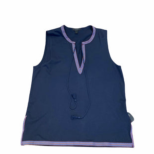 Primary Photo - BRAND: J CREW STYLE: TOP SLEEVELESS COLOR: NAVY SIZE: S SKU: 159-159201-14687