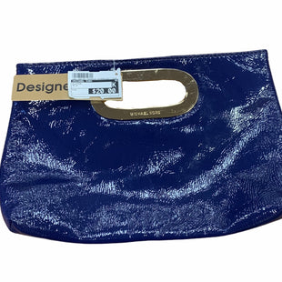 Primary Photo - BRAND: MICHAEL KORS STYLE: CLUTCH COLOR: BLUE SKU: 159-159192-16426