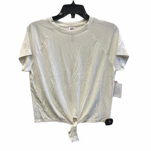 Primary Photo - BRAND: JOY LAB STYLE: TOP SHORT SLEEVE COLOR: WHITE SIZE: S SKU: 159-159254-208BIM: 9048