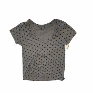 Primary Photo - BRAND: LUCKY BRAND STYLE: TOP SHORT SLEEVE COLOR: GREY SIZE: M SKU: 159-159110-14762