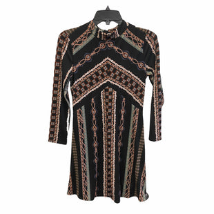 Primary Photo - BRAND: FREE PEOPLE STYLE: DRESS SHORT LONG SLEEVE COLOR: BLACK SIZE: XS SKU: 159-159252-1801BIM: 9159