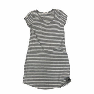 Primary Photo - BRAND: GAP STYLE: DRESS SHORT SHORT SLEEVE COLOR: GREY SIZE: XS SKU: 159-159240-688