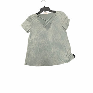 Primary Photo - BRAND: VESTIQUE STYLE: TOP SHORT SLEEVE COLOR: GREEN SIZE: S SKU: 159-159232-6874