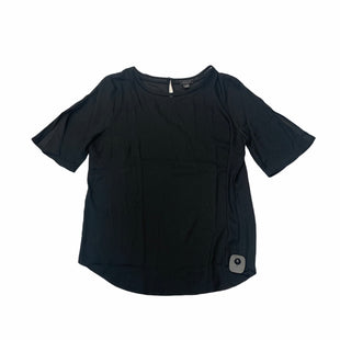 Primary Photo - BRAND: ANN TAYLOR STYLE: TOP SHORT SLEEVE COLOR: BLACK SIZE: M SKU: 159-159201-15057