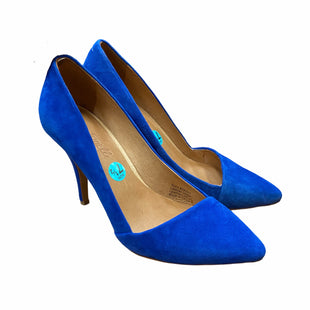 Primary Photo - BRAND: MADEWELL STYLE: SHOES HIGH HEEL COLOR: ROYAL BLUE SIZE: 7.5 SKU: 159-159267-496