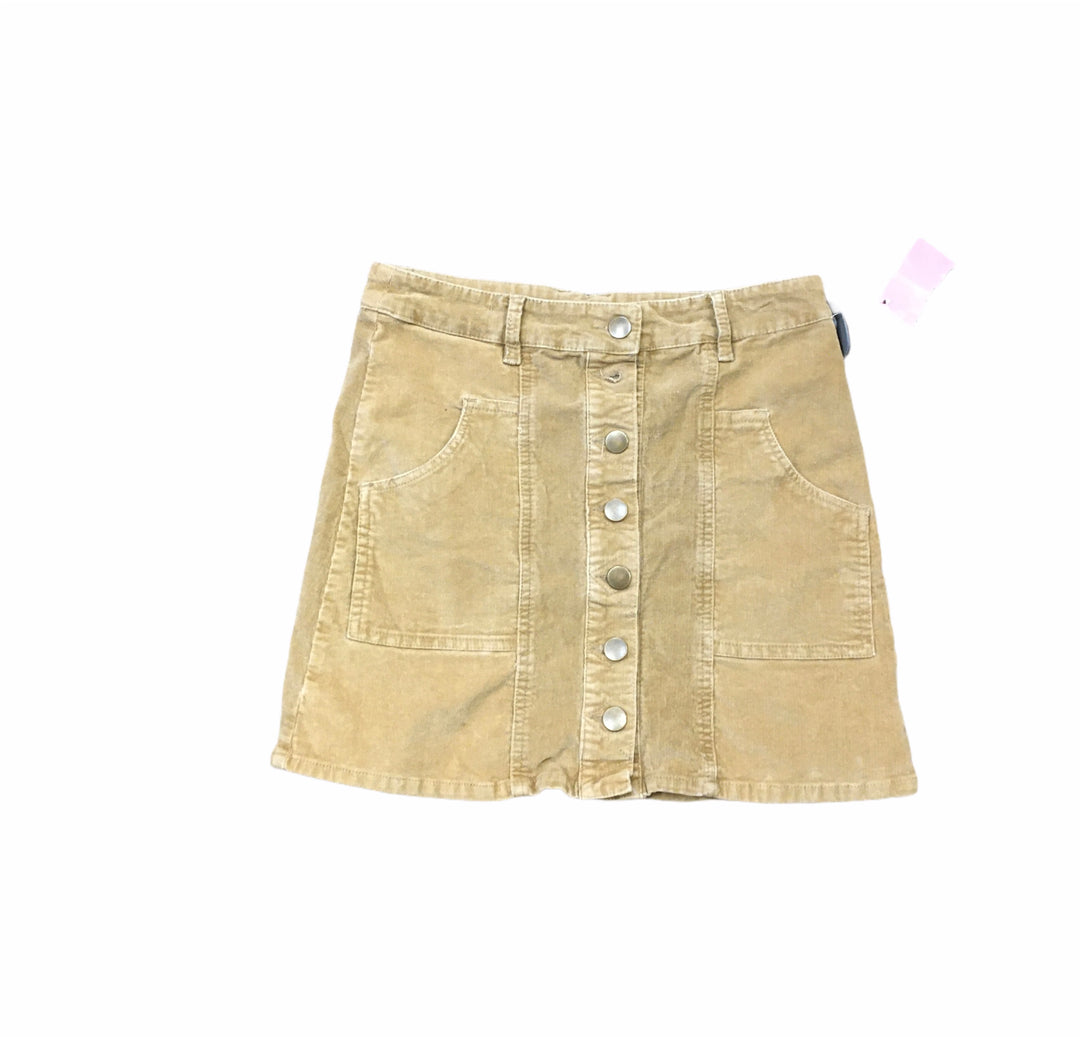 Primary Photo - BRAND: ALTARD STATE <BR>STYLE: SKIRT <BR>COLOR: TAN <BR>SIZE: S <BR>SKU: 159-159192-13506