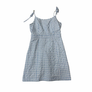 Primary Photo - BRAND: MADEWELL STYLE: DRESS SHORT SLEEVELESS COLOR: BLUE SIZE: 0 OTHER INFO: XS SKU: 159-159272-1642