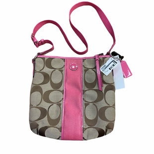 Primary Photo - BRAND: COACH STYLE: HANDBAG DESIGNER COLOR: TAN SIZE: SMALL SKU: 159-159232-9977