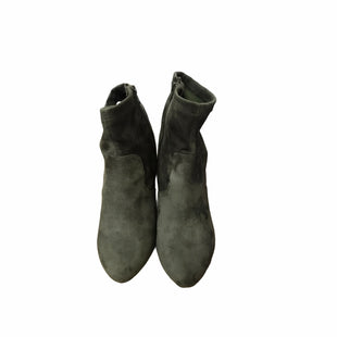 Primary Photo - BRAND: LANE BRYANT STYLE: BOOTS ANKLE COLOR: OLIVE SIZE: 10 SKU: 159-159265-760