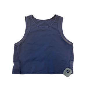 Primary Photo - BRAND: LULULEMON STYLE: ATHLETIC TANK TOP COLOR: BLUE SIZE: 6OTHER INFO: CROPPED SKU: 159-159272-518