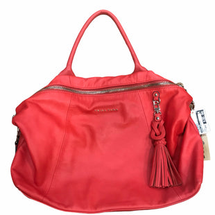 Primary Photo - BRAND: TRINA TURK STYLE: HANDBAG DESIGNER COLOR: RED SIZE: LARGE SKU: 159-159272-348
