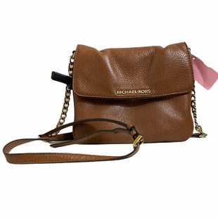 Primary Photo - BRAND: MICHAEL KORS STYLE: HANDBAG DESIGNER COLOR: BROWN SIZE: SMALL SKU: 159-159252-387