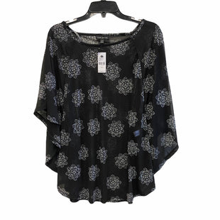 Primary Photo - BRAND: LANE BRYANT STYLE: TOP SHORT SLEEVE COLOR: BLACK SIZE: XL SKU: 159-159232-9728BIM: 9048