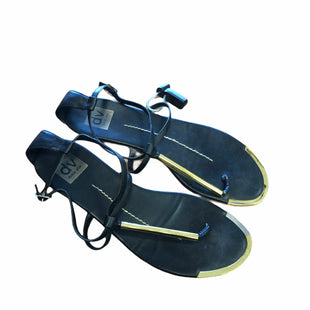 Primary Photo - BRAND: DOLCE VITA STYLE: SANDALS FLAT COLOR: BLACK SIZE: 8.5 SKU: 159-159253-584
