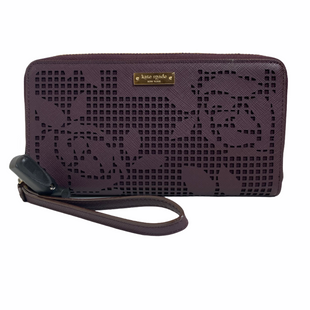 Primary Photo - BRAND: KATE SPADE STYLE: WALLET COLOR: PURPLE SIZE: MEDIUM SKU: 159-159267-436