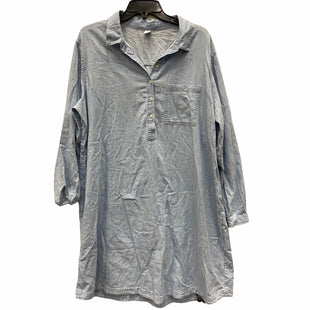 Primary Photo - BRAND: OLD NAVY STYLE: DRESS LONG LONG SLEEVE COLOR: DENIM SIZE: XXL SKU: 159-159265-396