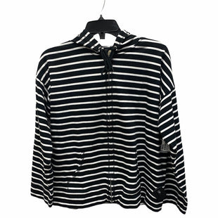 Primary Photo - BRAND: JONES NEW YORK STYLE: ATHLETIC JACKET COLOR: BLACK WHITE SIZE: PETITE LARGE SKU: 159-159273-39