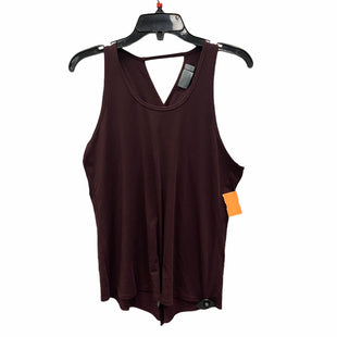 Primary Photo - BRAND: ATHLETA STYLE: ATHLETIC TANK TOP COLOR: BURGUNDY SIZE: S SKU: 159-159272-566