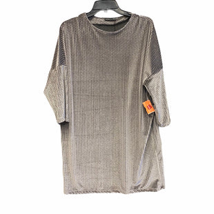Primary Photo - BRAND: ZARA BASIC STYLE: DRESS LONG SLEEVE COLOR: GREY SIZE: M SKU: 159-159265-1108