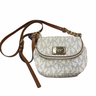 Primary Photo - BRAND: MICHAEL KORS STYLE: HANDBAG DESIGNER COLOR: WHITE SIZE: MEDIUM SKU: 159-159232-10505