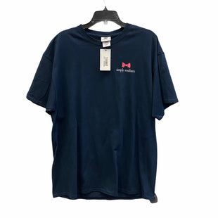 Primary Photo - BRAND: SIMPLY SOUTHERN STYLE: TOP SHORT SLEEVE COLOR: NAVY SIZE: XL SKU: 159-159252-1818BIM: 9048