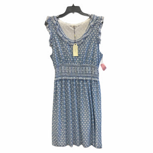 Primary Photo - BRAND: SOPHIE MAX STYLE: DRESS SHORT SLEEVELESS COLOR: BLUE WHITE SIZE: XL SKU: 159-159249-102