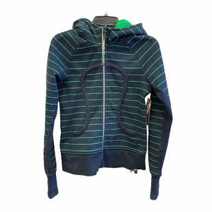 Primary Photo - BRAND: LULULEMON STYLE: ATHLETIC JACKET COLOR: NAVY SIZE: 6 SKU: 159-159267-627