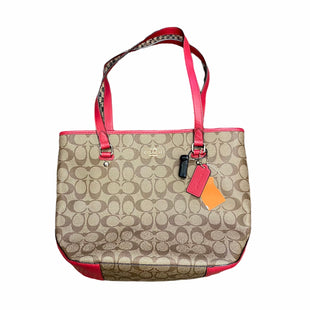 Primary Photo - BRAND: COACH STYLE: HANDBAG DESIGNER COLOR: BROWN SIZE: MEDIUM SKU: 159-159258-92