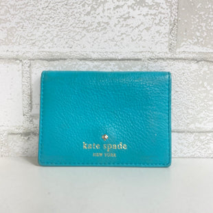 Primary Photo - BRAND: KATE SPADE STYLE: WALLET COLOR: BLUE SIZE: SMALL SKU: 159-159252-444
