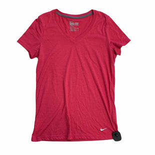 Primary Photo - BRAND: NIKE APPAREL STYLE: ATHLETIC TOP SHORT SLEEVE COLOR: PINK SIZE: S SKU: 159-159253-1013