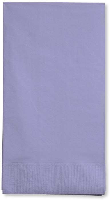 Creative Converting Touch of Color 3-Ply 50 Count Paper Beverage Napkins, Bermuda Blue