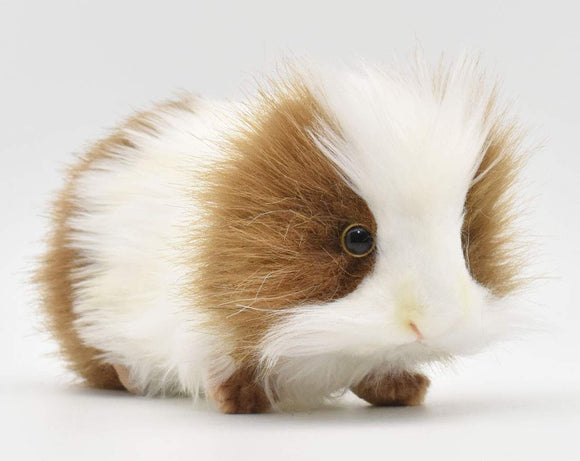 HANSA Guinea Pig Plush, Brown/White