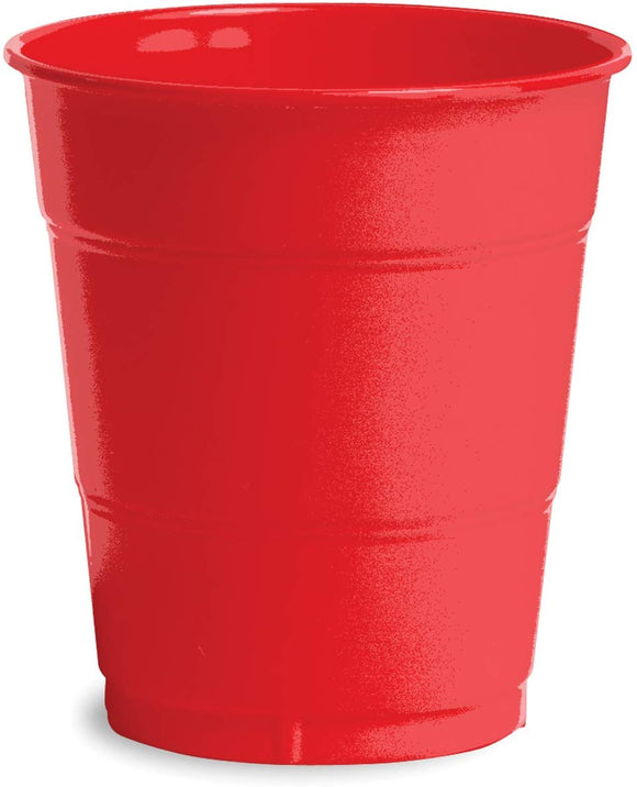 Touch of Color 12-Ounce Premium Plastic Cups