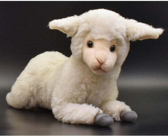 Hansa Little Lamb Sheep Plush Animal Toy, Approximately 18