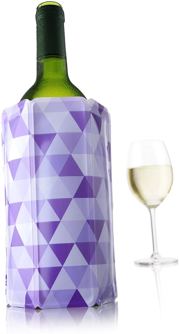 Vacu Vin Rapid Ice Wine Cooler - Diamond Purple