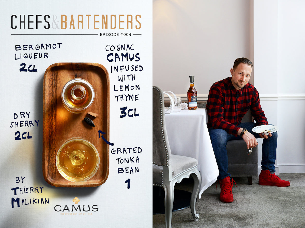 chefs and bartenders cocktail camus cognac