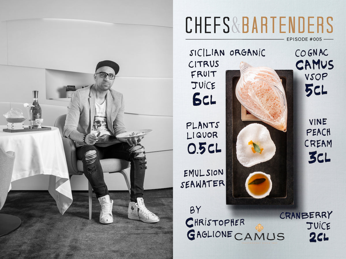 chefs and bartenders cognac camus whisky mixology