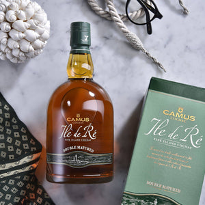 CAMUS COGNAC ILE DE RE DOUBLE MATURED - CAMUS COGNAC