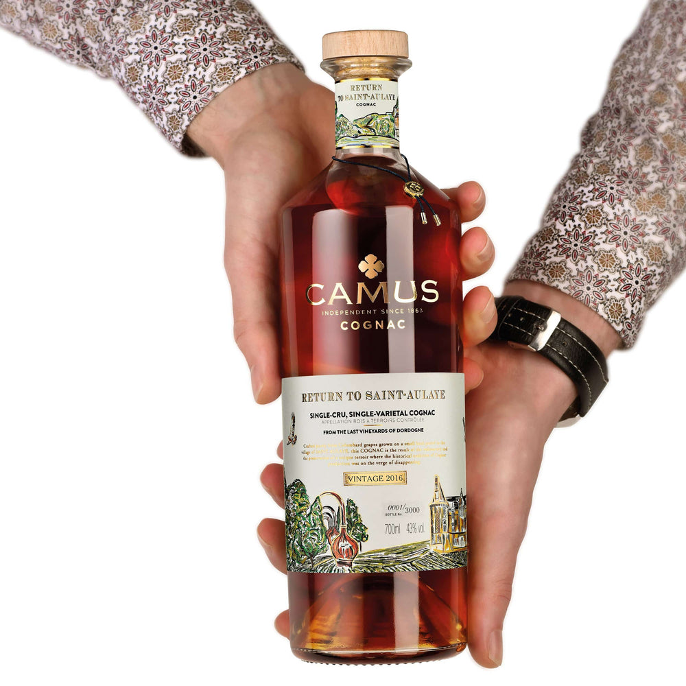 CAMUS COGNAC RETURN TO SAINT-AULAYE (43%)