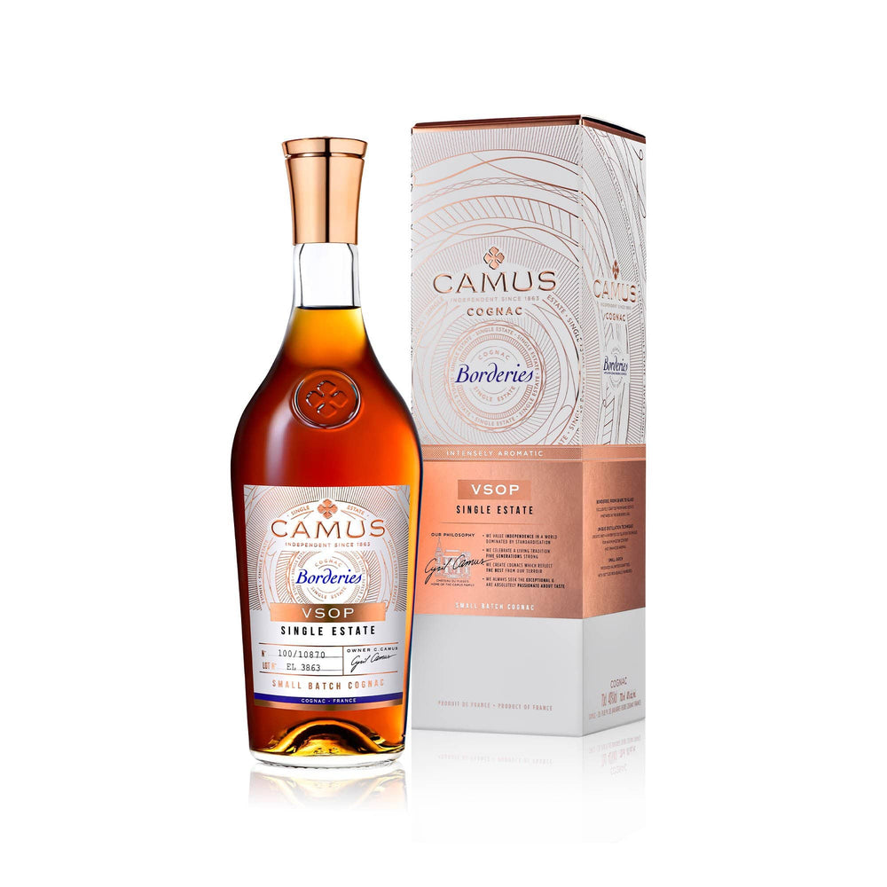 CAMUS COGNAC VSOP BORDERIES SINGLE ESTATE