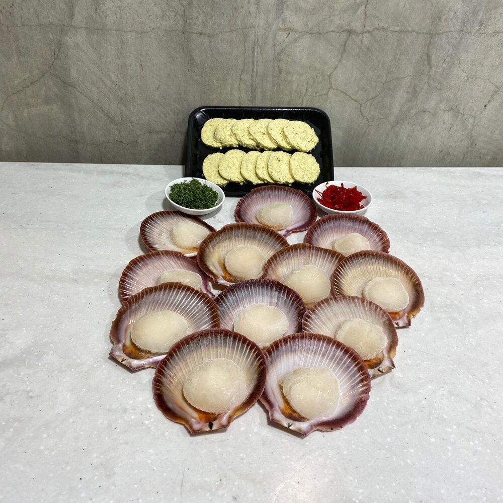 Herb Crusted Scallops Meal Kit