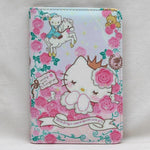 protege passeport hello kitty roses